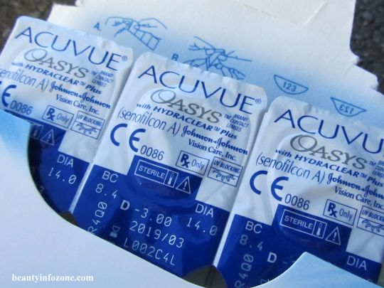 Acuvue Oasys SINGLE LENS