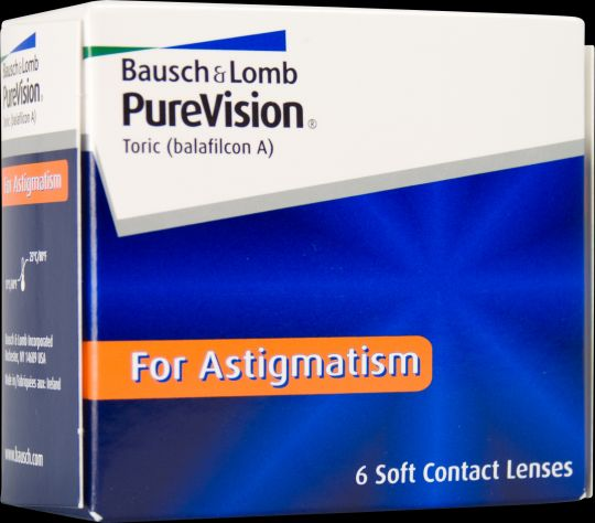 Pure Vision  For Astigmatism 6 pack